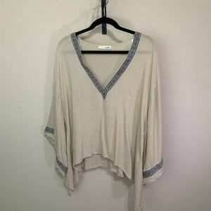 a.gain | Bell Sleeve Tunic